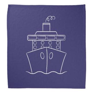 Cruise ship bandannas