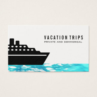 Cruise Ship Business Card