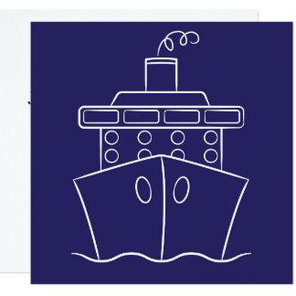 Cruise ship card