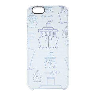 Cruise ship clear iPhone 6/6S case