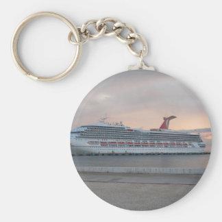 Cruise Ship Key Chain