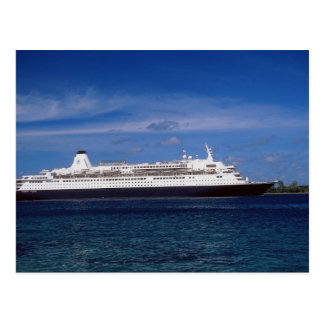 Cruise ship, Nassau, Bahamas Postcard