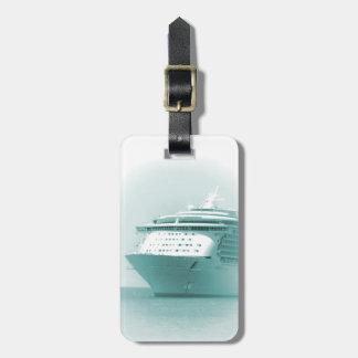 Cruise Ship Personalized Luggage Tag