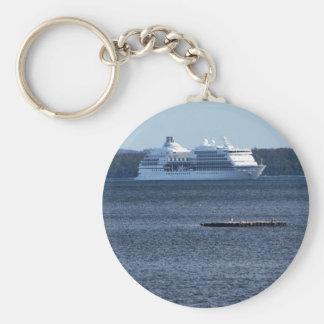Cruise Ship Photo Keychain
