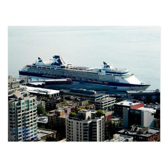 Cruise Ship Postcard