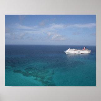 Cruise Ship Poster