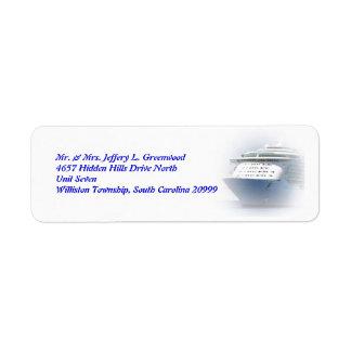 Cruise Ship Return Address Return Address Label