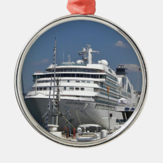 Cruise Ship Seabourn Odyssey Metal Ornament