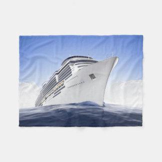 Cruise Ship Small Fleece Blanket