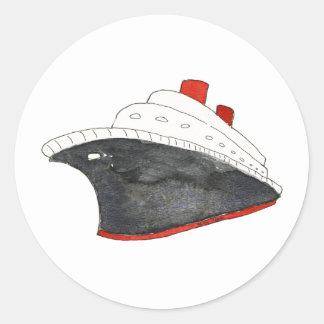 Cruise Ship Sticker