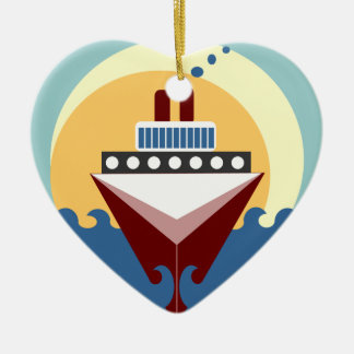 Cruise Ship Wedding Personalized Ornament Favor