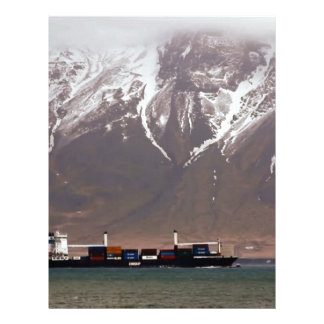 CRUISE SHIPS around SNOW MOUNTAINS America Letterhead