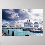 Cruise Ships Print