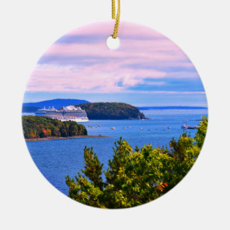 Cruise Stop Bar Harbor Ornament