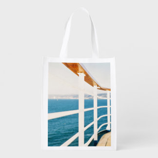 Cruise Themed, A Picture Of A Cruize Sailing On An Market Tote