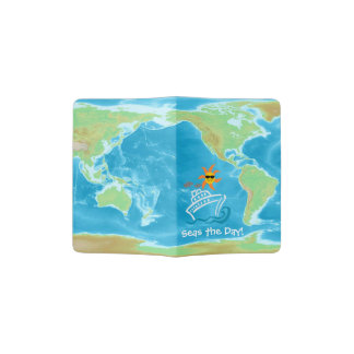 Cruise Themed Passport Holder - Seas the Day!
