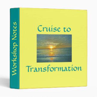 Cruise to Transformation Binder