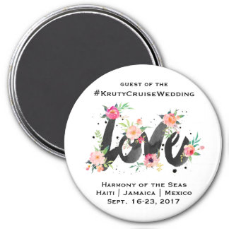 Cruise Wedding Door Magnet