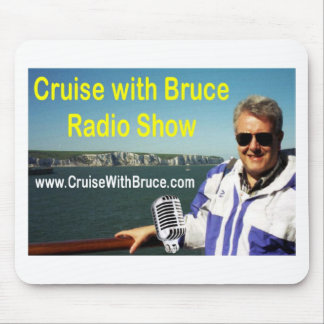 Cruise with Bruce Mouse Pad