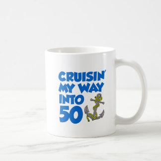 Cruisin' My Way Into 50 Mug
