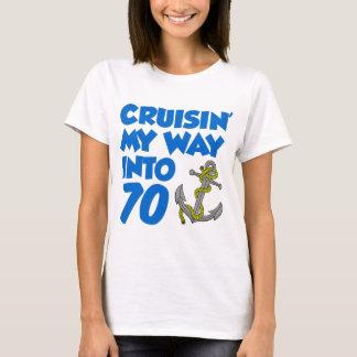 Cruisin' My Way Into 70 T-Shirt