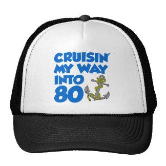 Cruisin' My Way Into 80 Trucker Hat