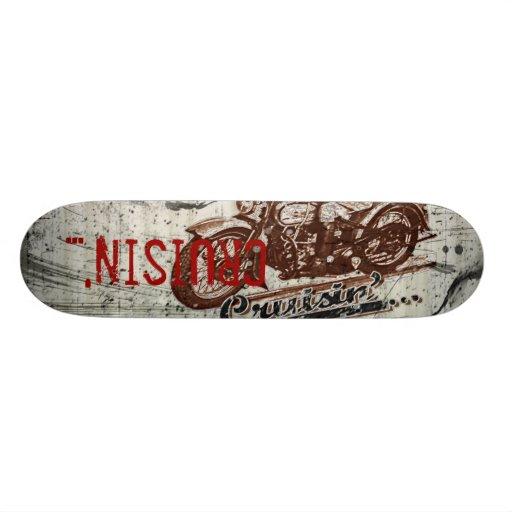 Cruisin'... Skateboard Deck