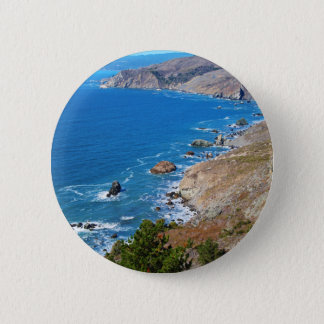 Cruisin The Coast 2 Inch Round Button
