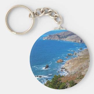 Cruisin The Coast Keychain