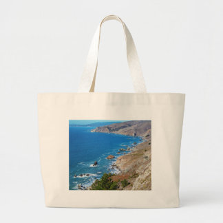 Cruisin The Coast Large Tote Bag