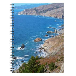 Cruisin The Coast Spiral Notebook
