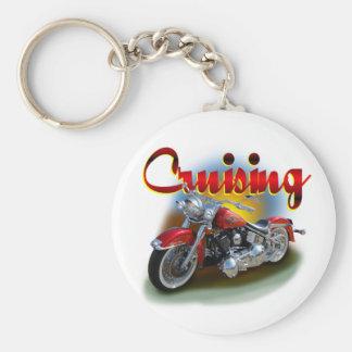 Cruising bike keychain