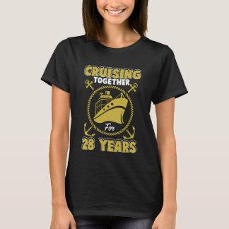Cruising Costume For 28th Anniversary Gifts. T-Shirt