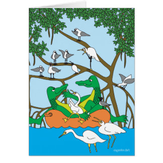 Cruising Duet - The Alligators Card