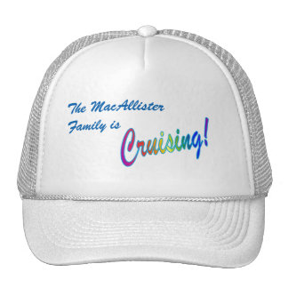 Cruising Family Personalized Trucker Hat