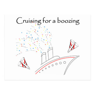 Cruising for a Boozing Postcard