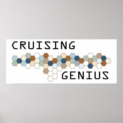 Cruising Genius Print
