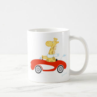 Cruising Giraffe Coffee Mug