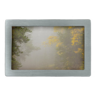 Cruising Into Autumn Fog Belt Buckle