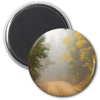Cruising Into Autumn Fog Magnet