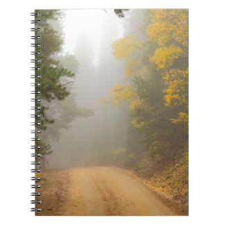 Cruising Into Autumn Fog Notebooks