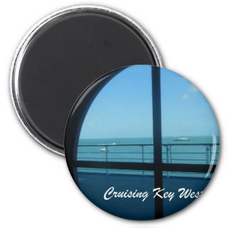 Cruising Key West Magnet