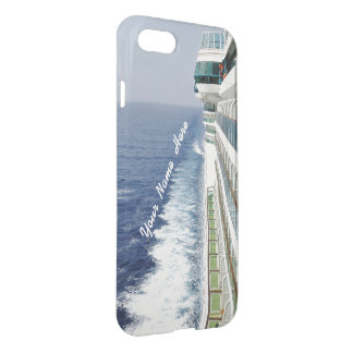 Cruising on Balcony Row Personalized iPhone 7 Case