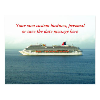Cruising the Tropics Custom Postcard