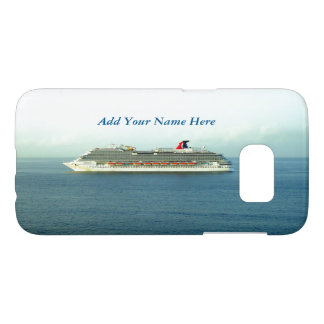 Cruising the Tropics Personalized Samsung Galaxy S7 Case