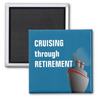 Cruising Through Retirement Rich Aqua Magnet
