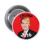 Crump, Cruz Trump Composite 2016 2 Inch Round Button