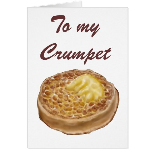 Crumpet greeting cards