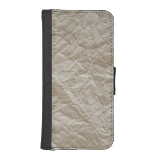 Crumpled paper iPhone SE/5/5s wallet case