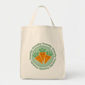 Crunchy Carrots Kawaii Tote Bag